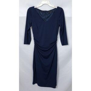 David Meister Formal Midi Dress